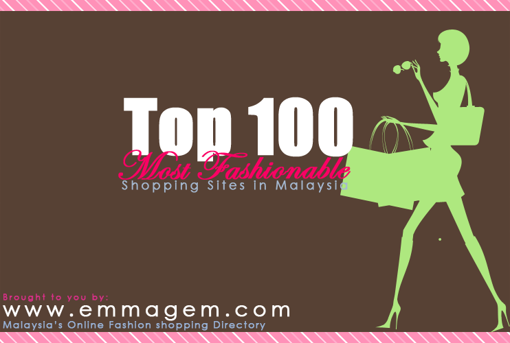 Top 100 Shopping Sites in Malaysia
